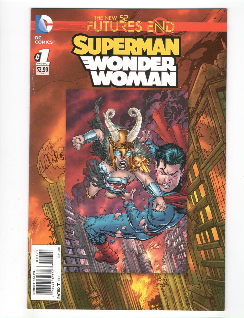 New 52 Futures End Superman / Wonder Woman 1 Variant