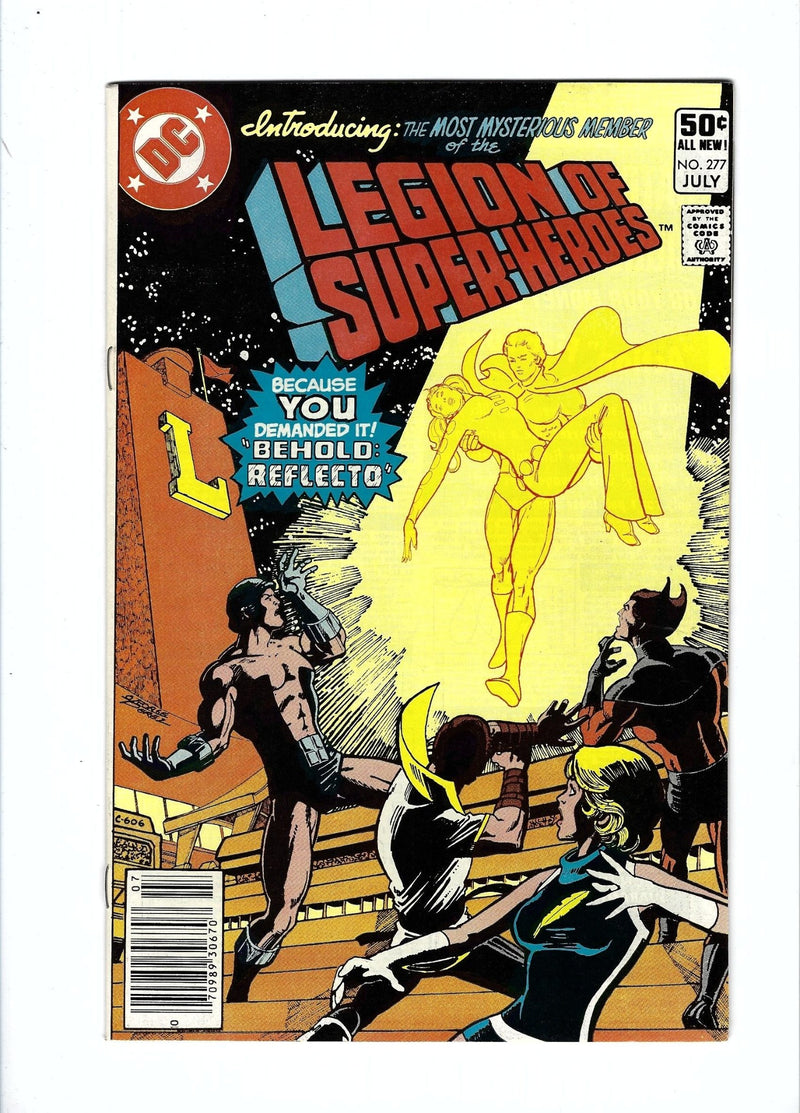 Legion of Super-Heroes Vol 2 277 Newsstand