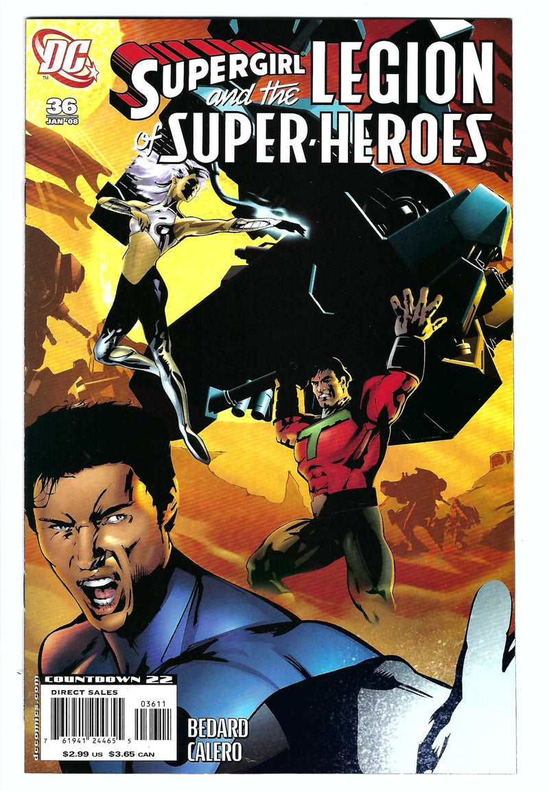 Legion of Super-Heroes Vol 5 36