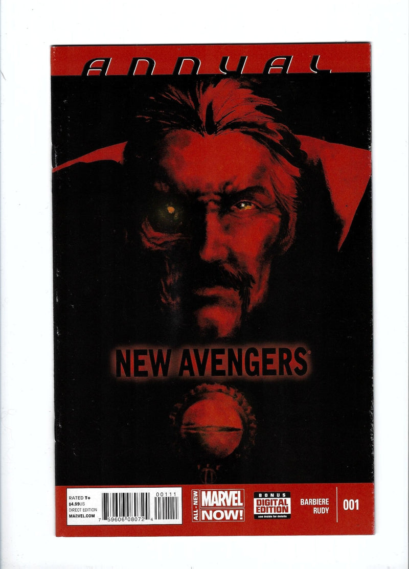 New Avengers Vol 3 Annual 1
