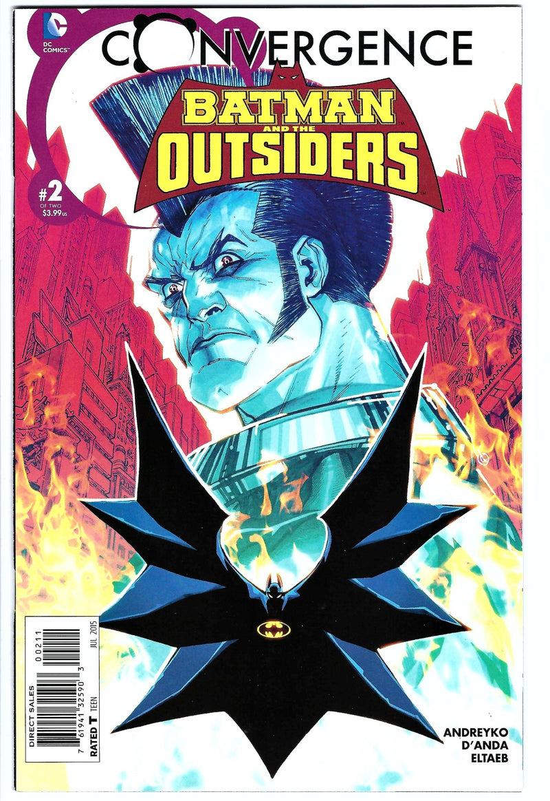 Batman and the Outsiders Convergence 2