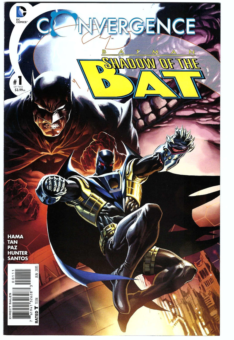 Batman Shadow of the Bat Convergence 1