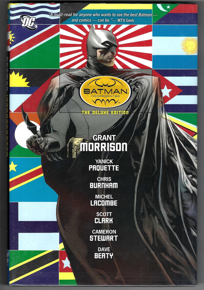 Batman Incorporated   Deluxe Edition