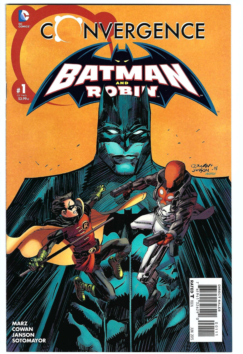 Batman and Robin Convergence 1