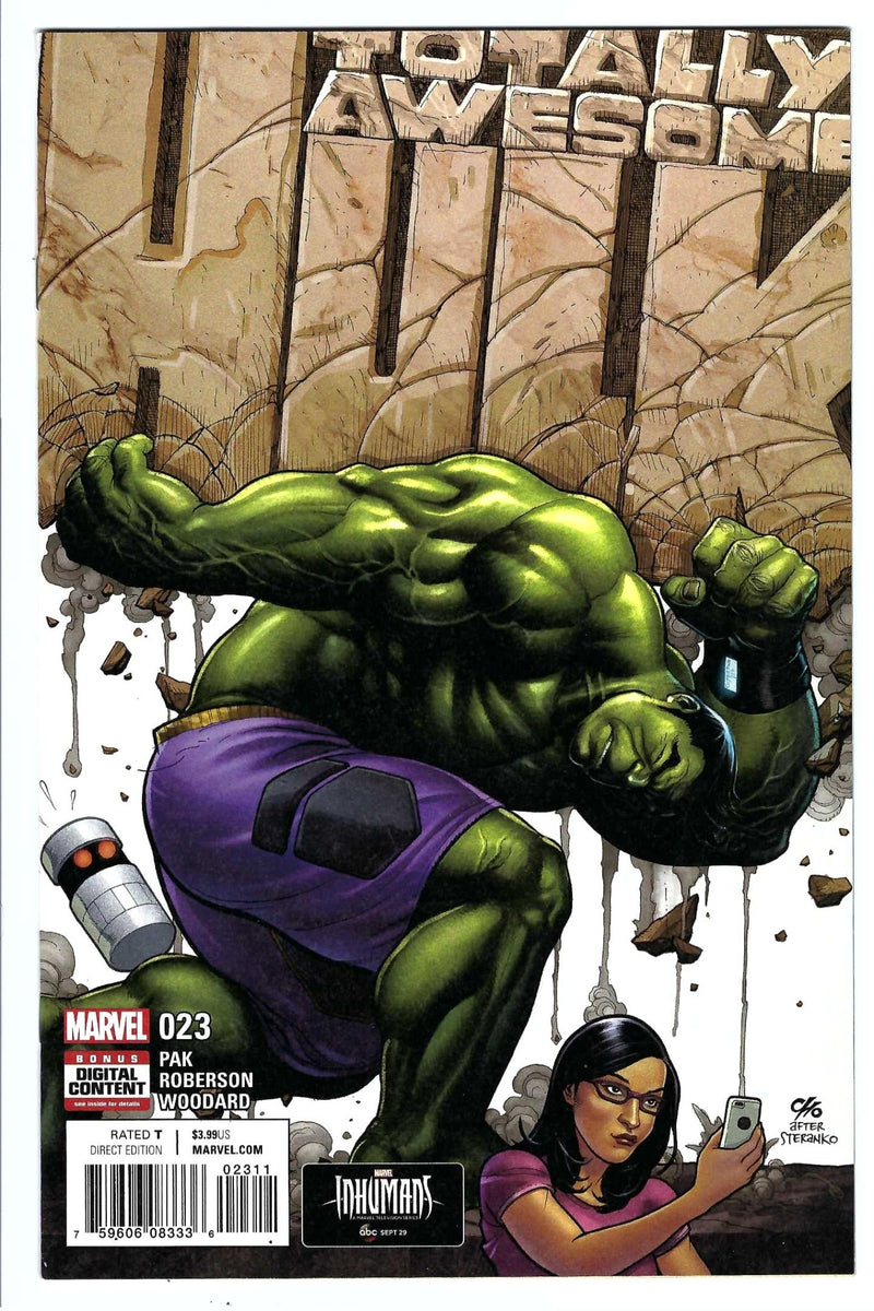Totally Awesome Hulk 23
