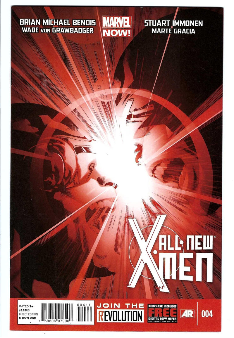 All New X-Men Vol 1 4-Marvel-CaptCan Comics Inc