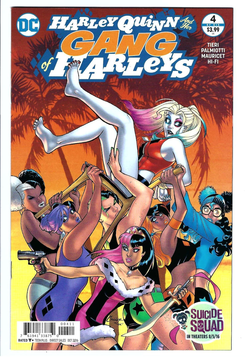 Harley Quinn and Her Gang of Harleys 4