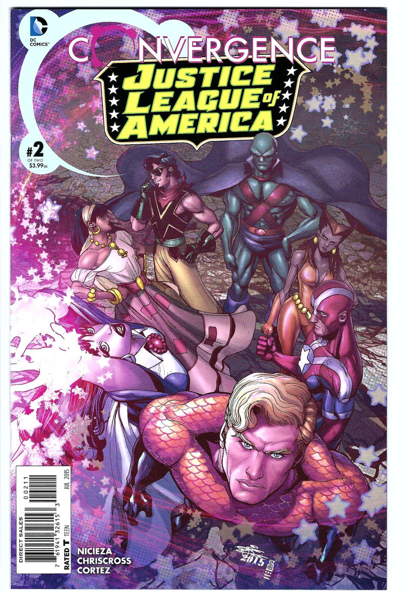 Justice League of America Convergence 2