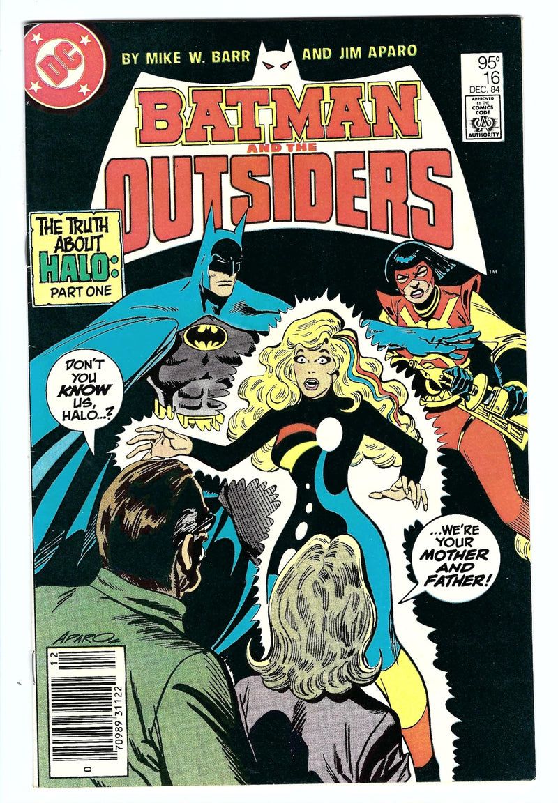 Batman & the Outsiders Vol 1 16 Variant
