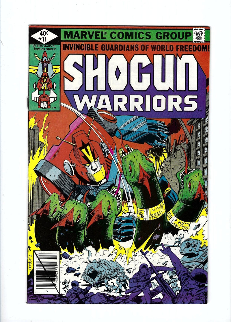 Shogun Warriors 11