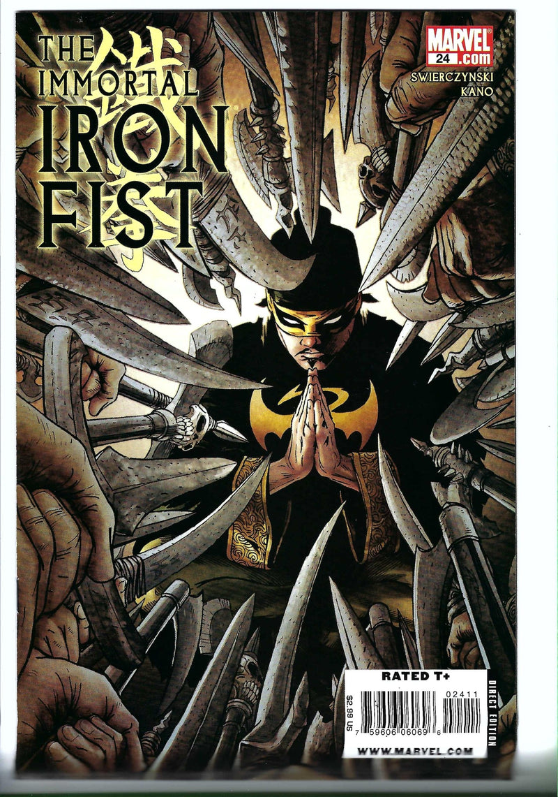 Immortal Iron Fist 24