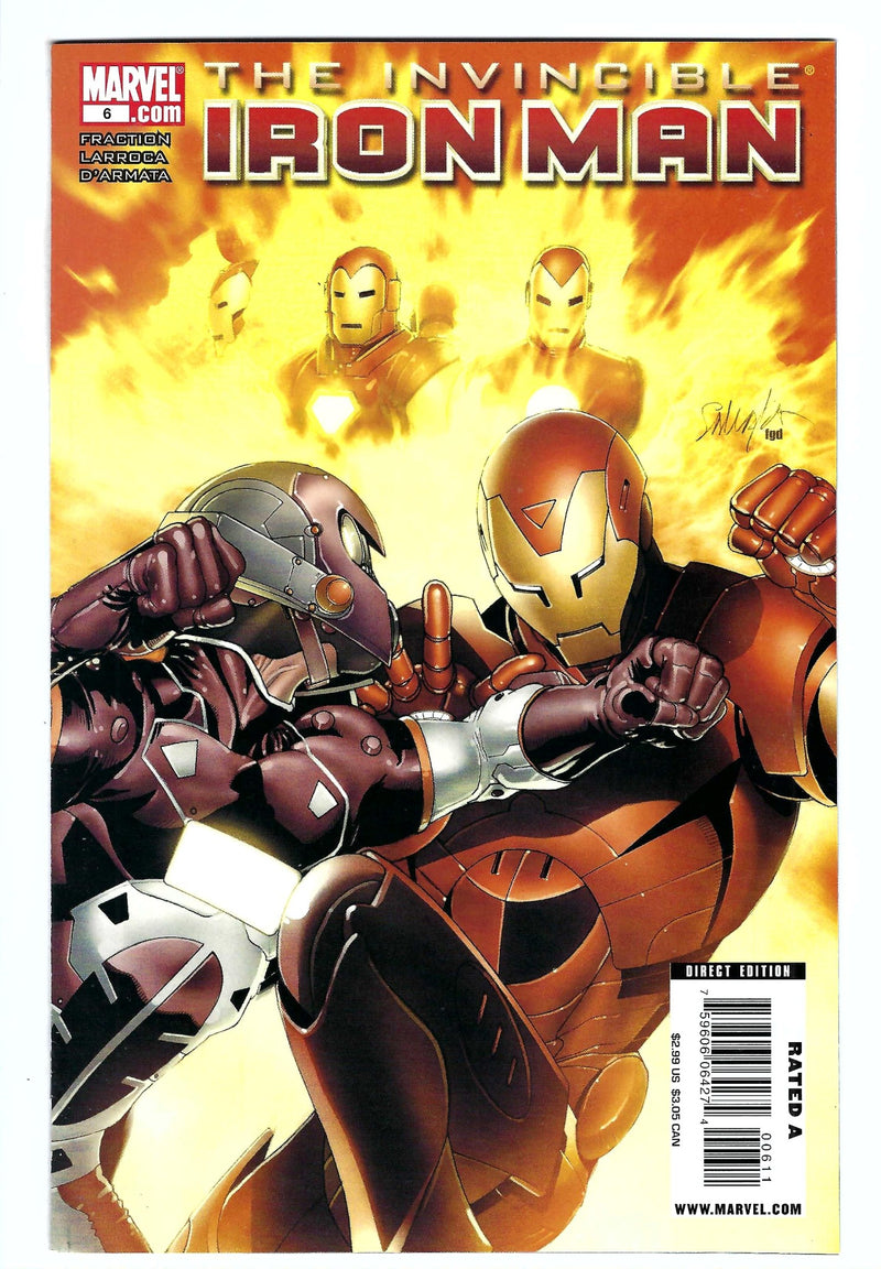 Invincible Iron Man Vol 1 6