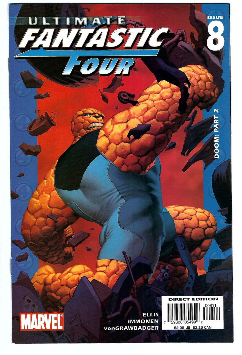 Ultimate Fantastic Four 8
