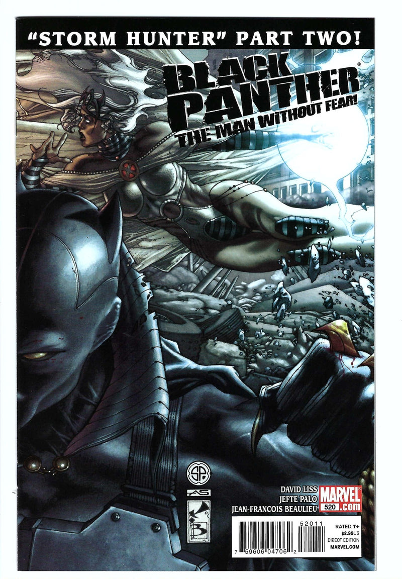 Black Panther Man Without Fear 520