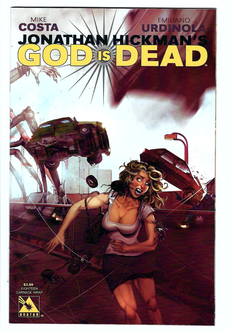 God Is Dead 18 Variant