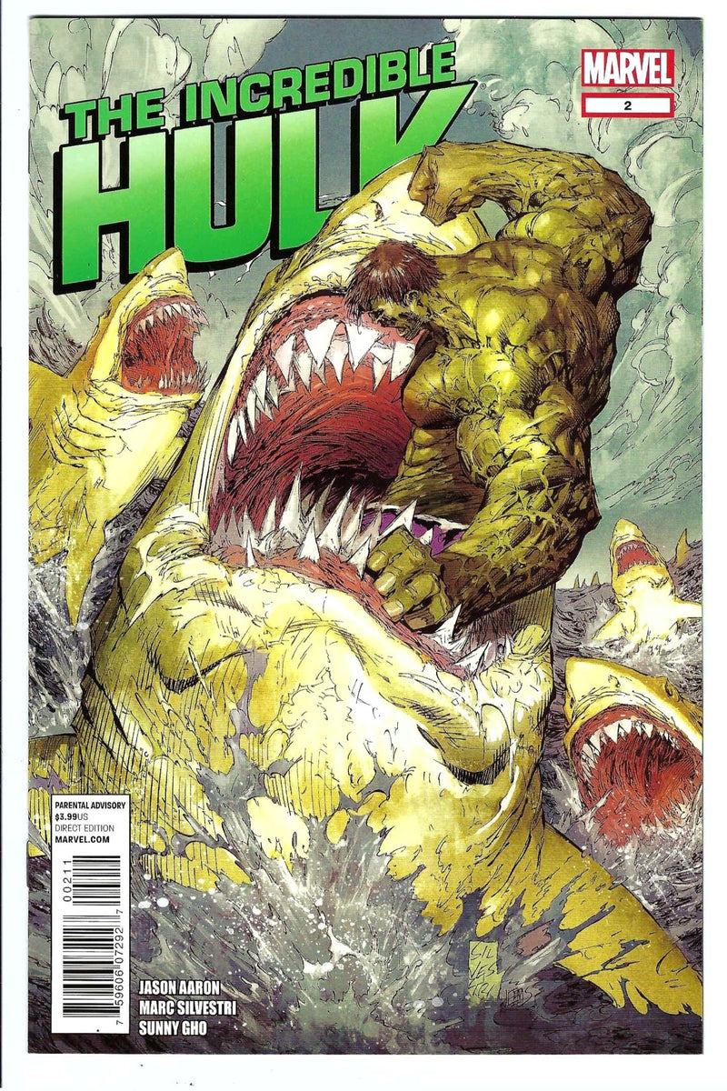 Incredible Hulk Vol 3 2