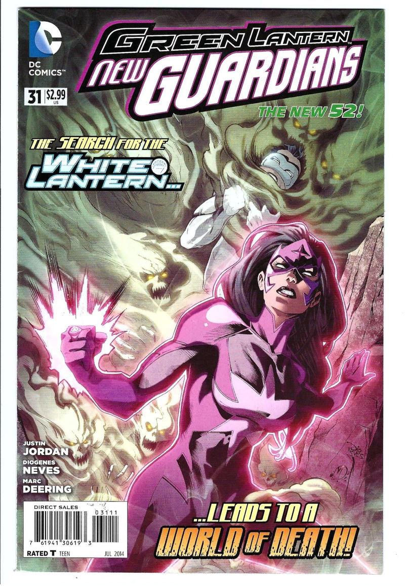 Green Lantern New Guardians 31
