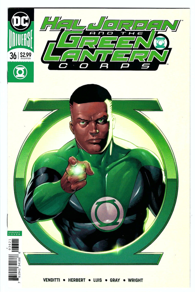 Hal Jordan and the Green Lantern Corps 36 Variant