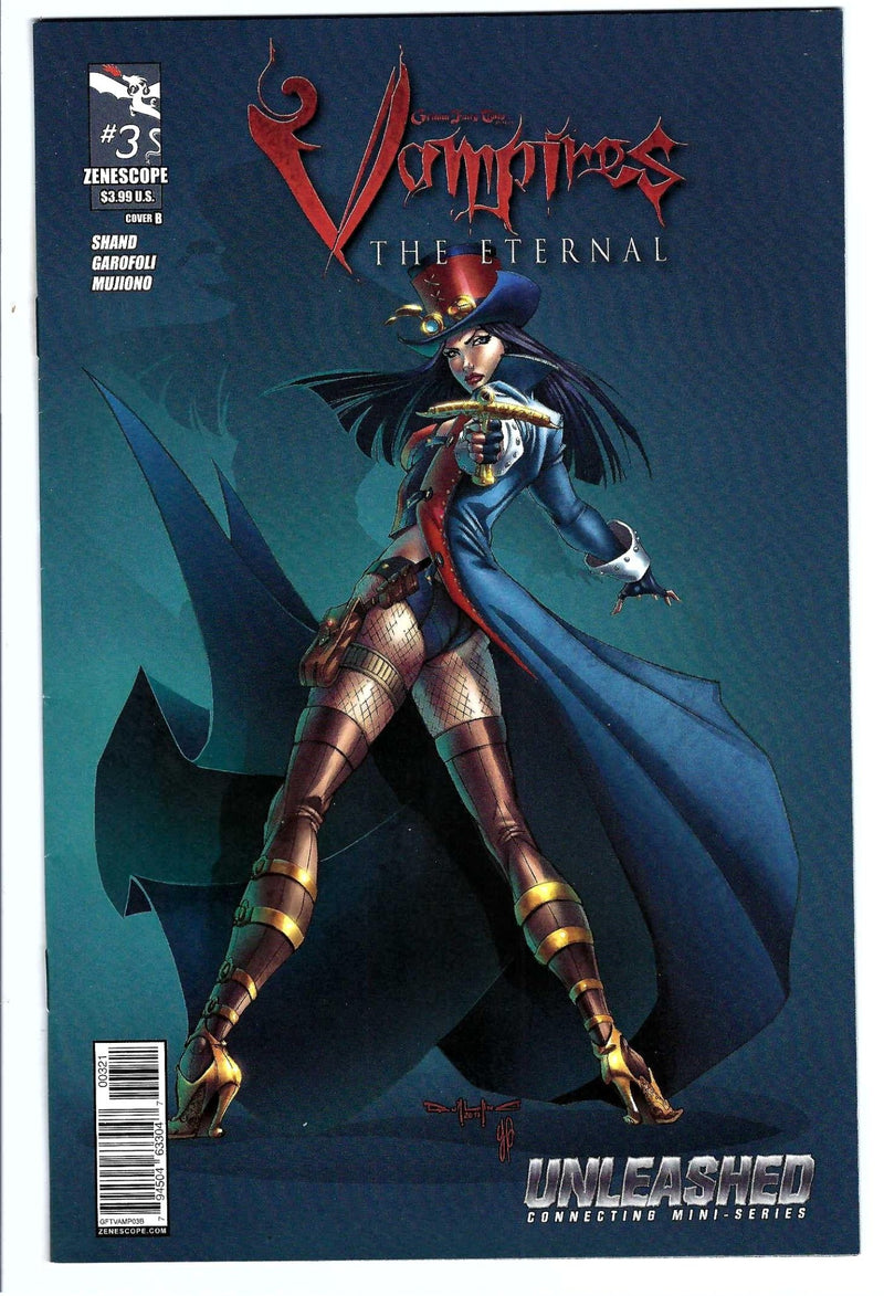 Grimm Fairy Tales Vampires Eternal 3 Variant-Zenescope-CaptCan Comics Inc