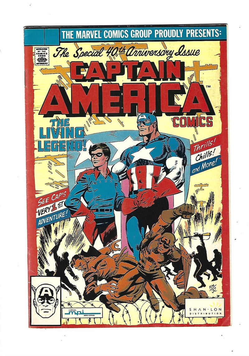 Captain America Vol 1 255 Variant