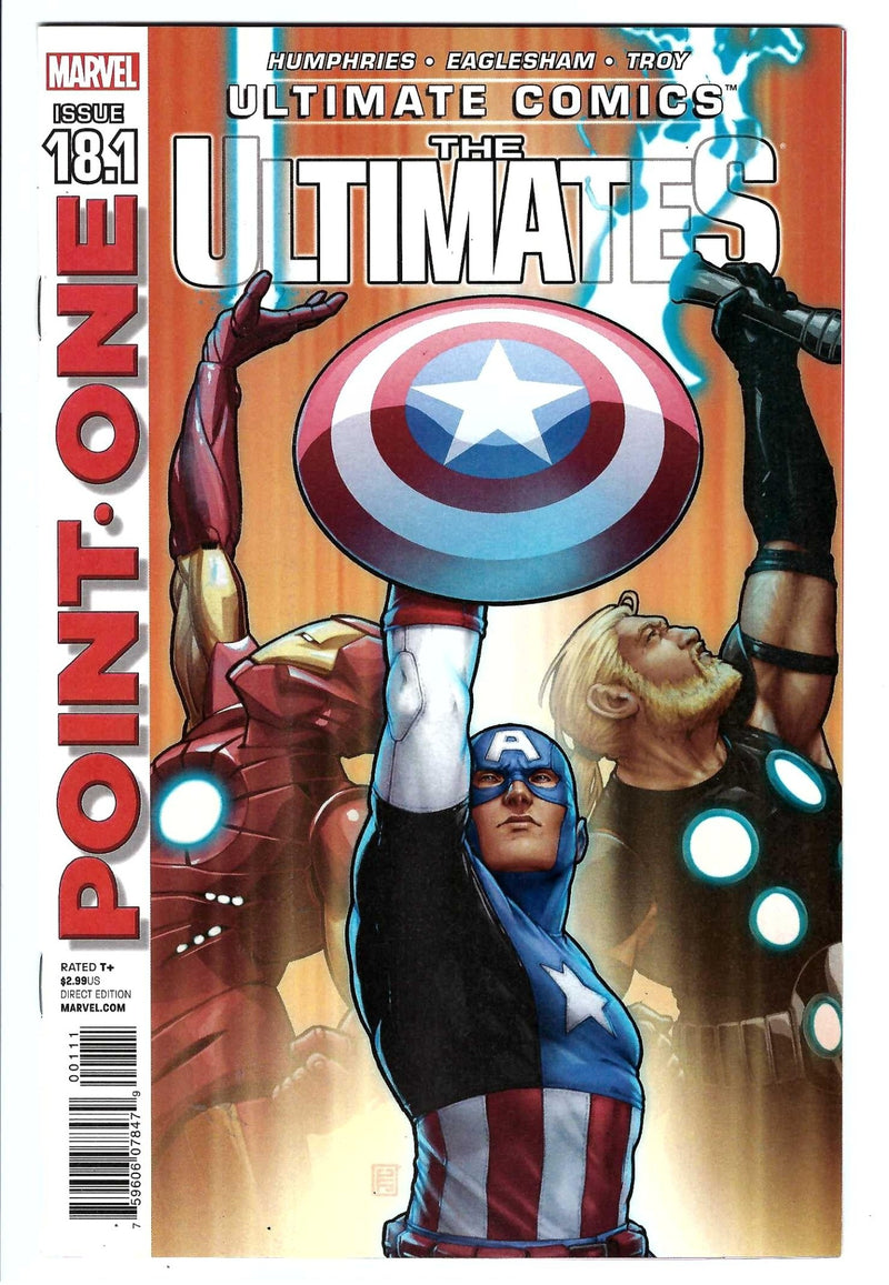 Ultimate Comics: The Ultimates 18.1