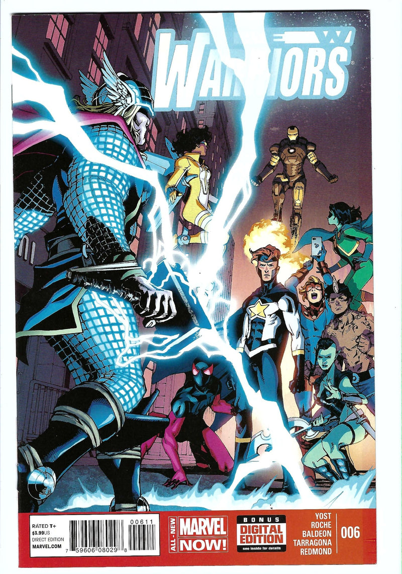 New Warriors Vol 5 6