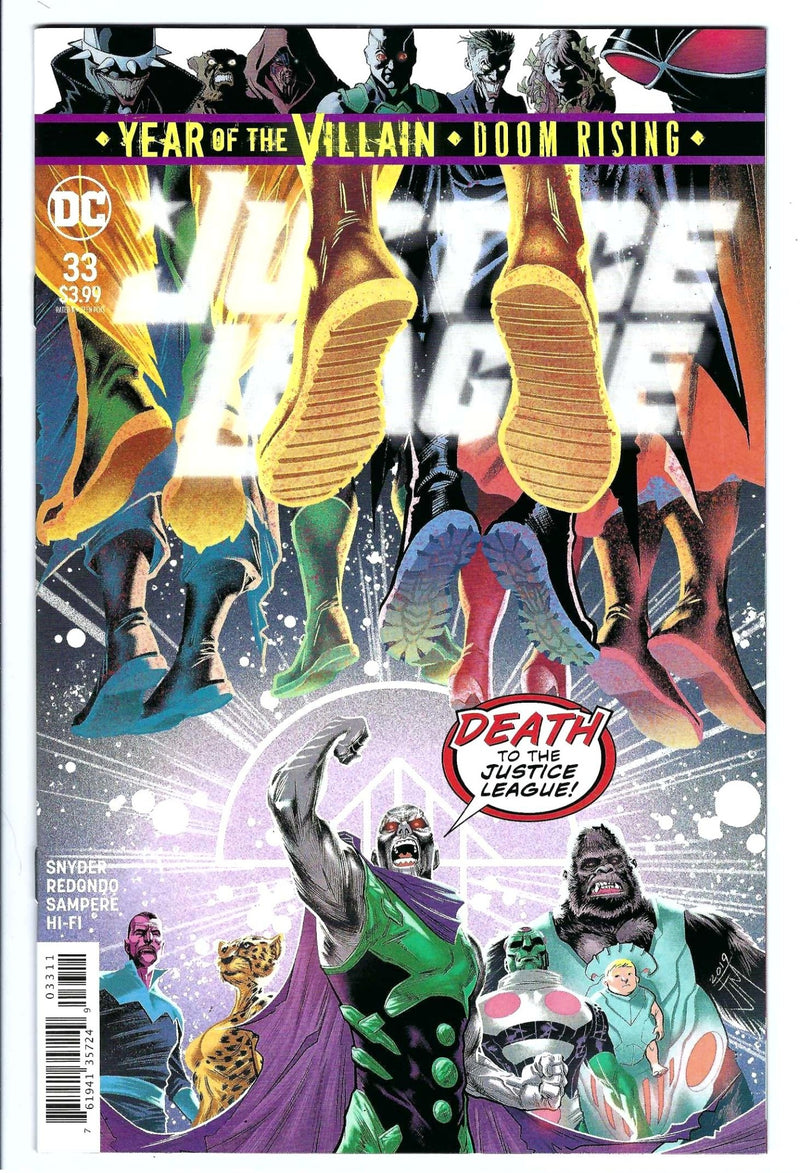 Justice League Vol 3 33