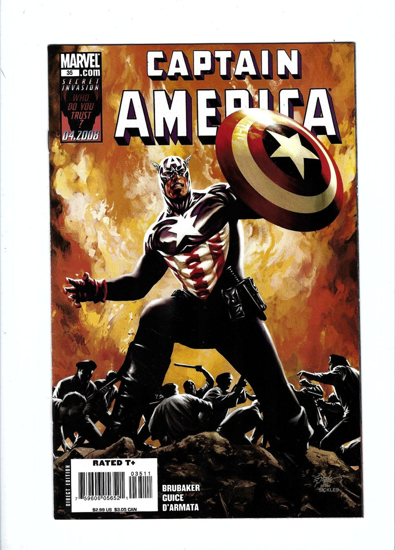 Captain America Vol 5 35