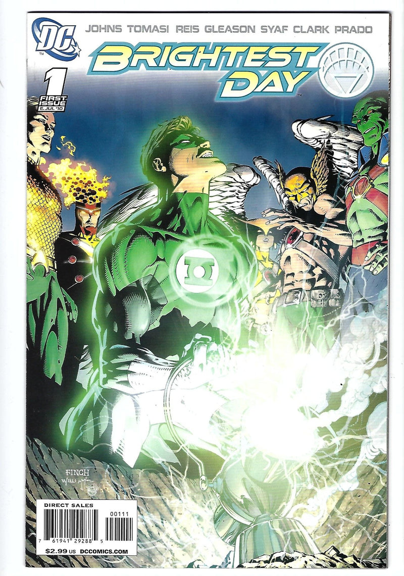 Brightest Day 1