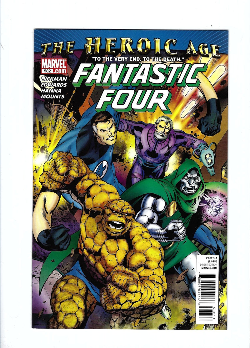 Fantastic Four Vol 3 582