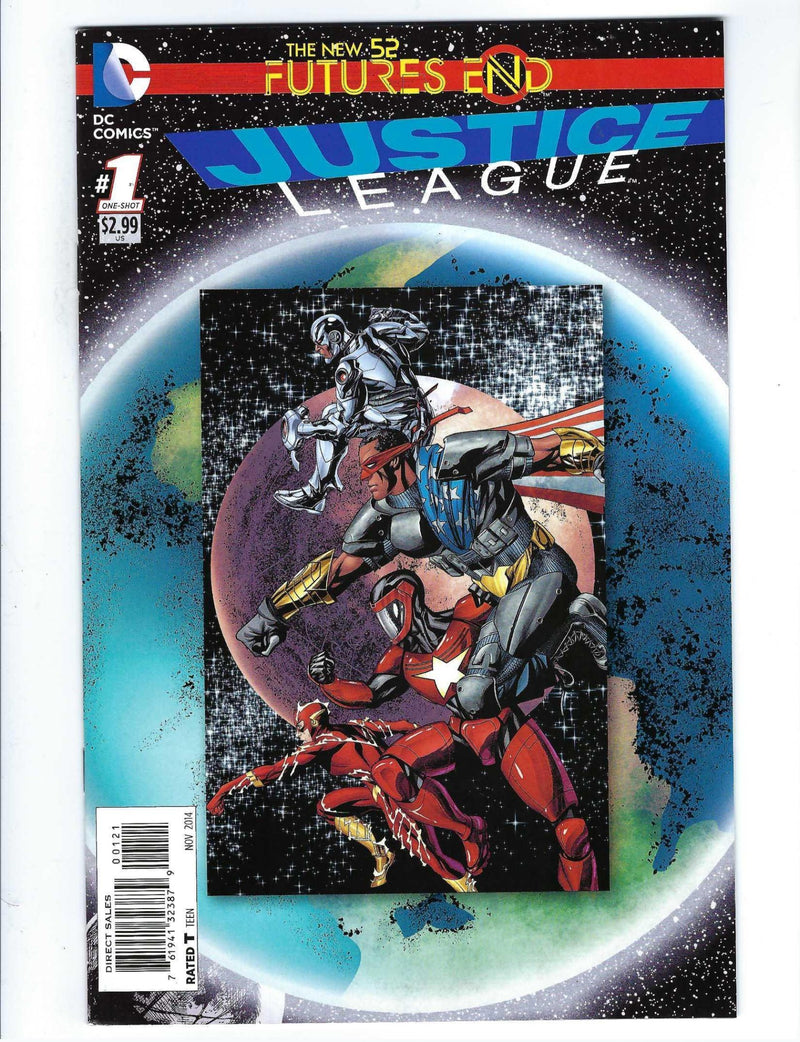 New 52 Futures End Justice League 1 Variant