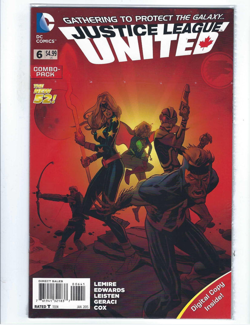 Justice League United 6 Variant