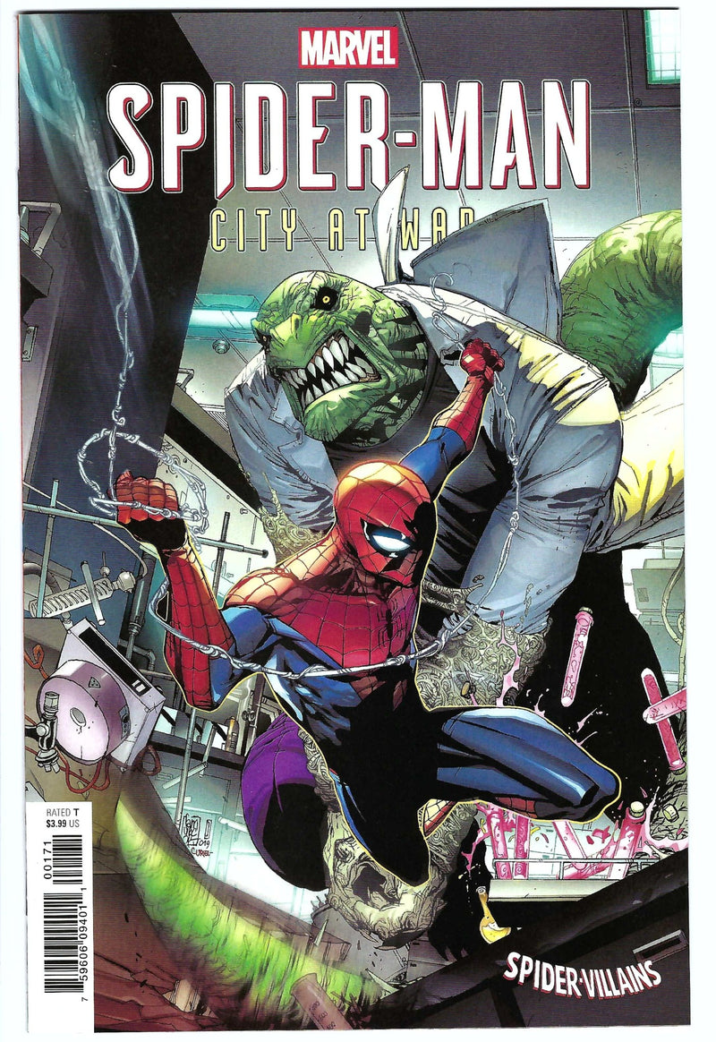 Spider-Man City at War 1 Variant
