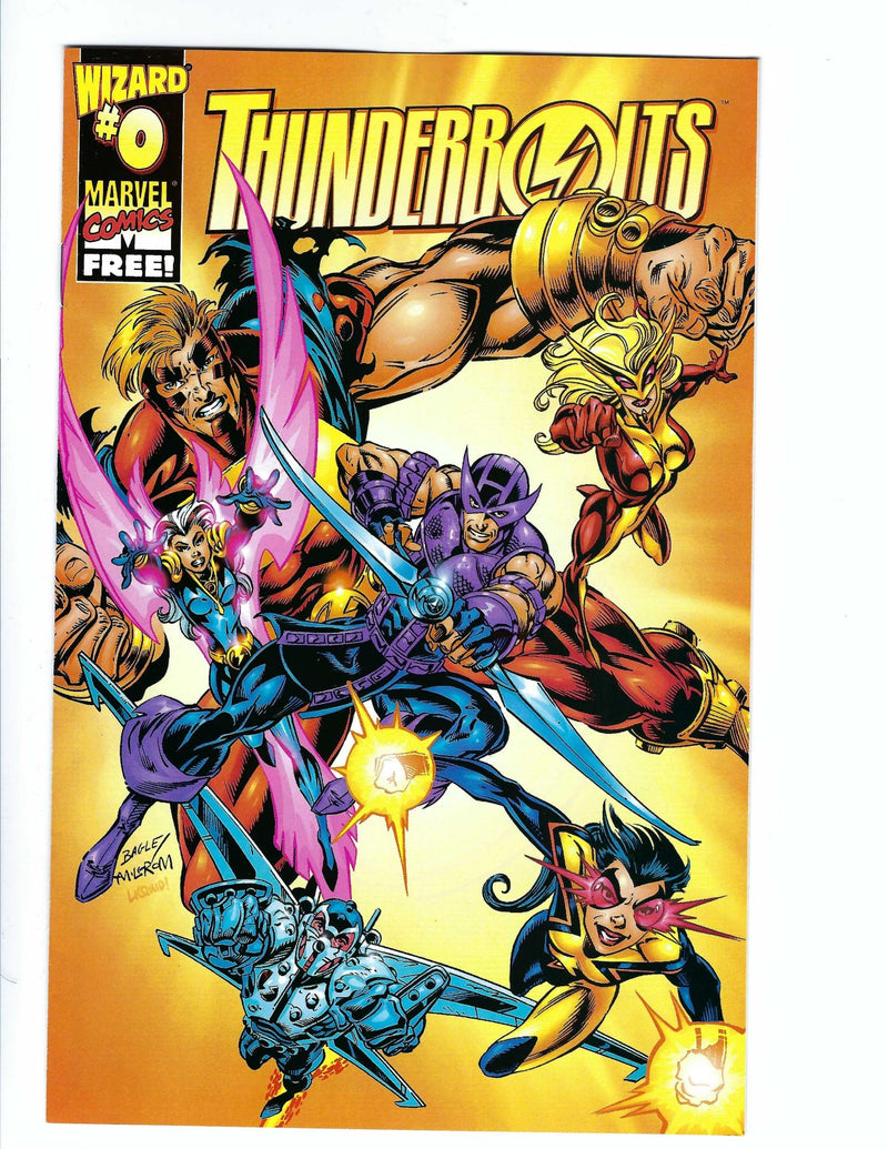 Thunderbolts Vol 1 0 Variant