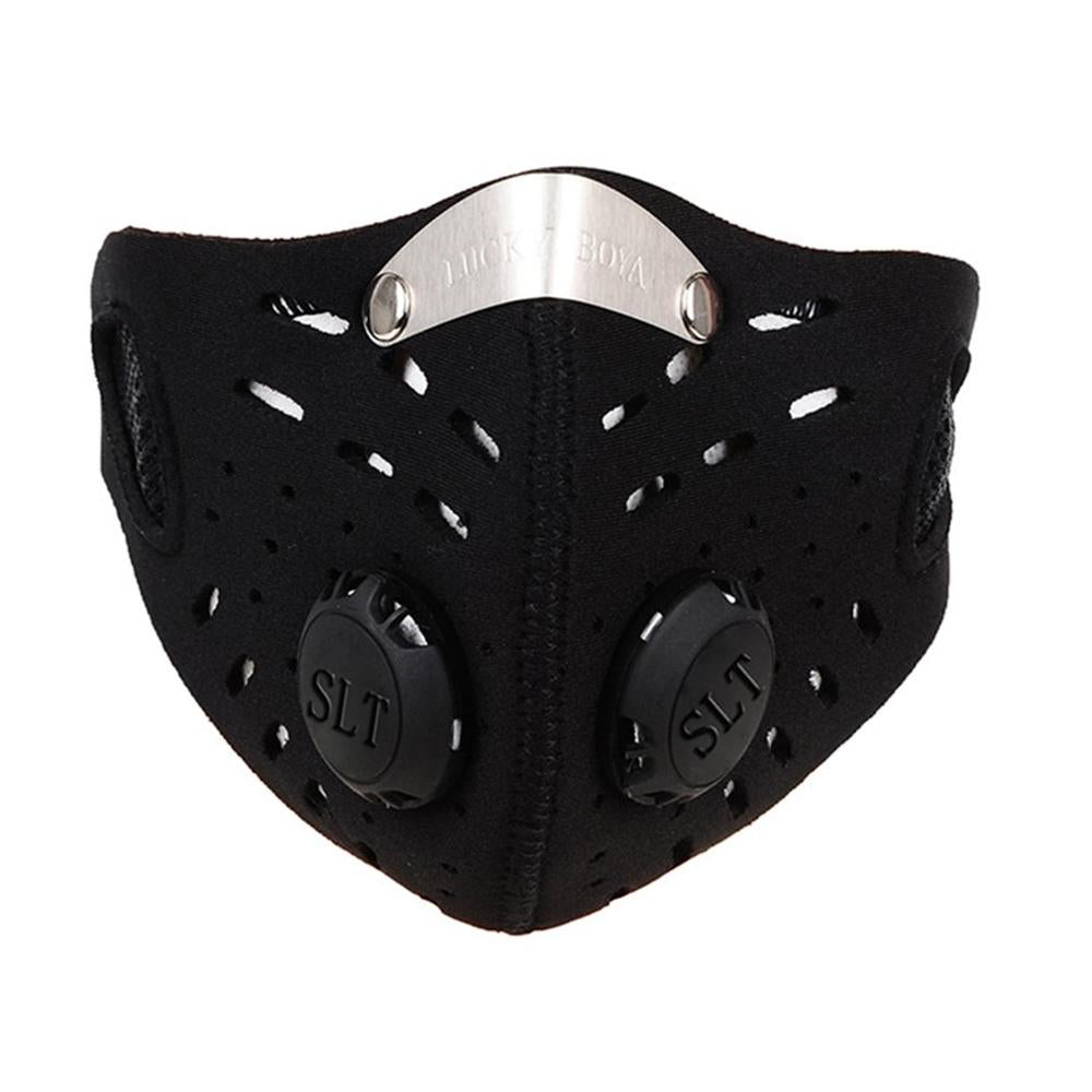 1pc Cycling Dust Mesh Mask | Activated Carbon Filter | Anti fog Mask | Anti Dust Gas Mask