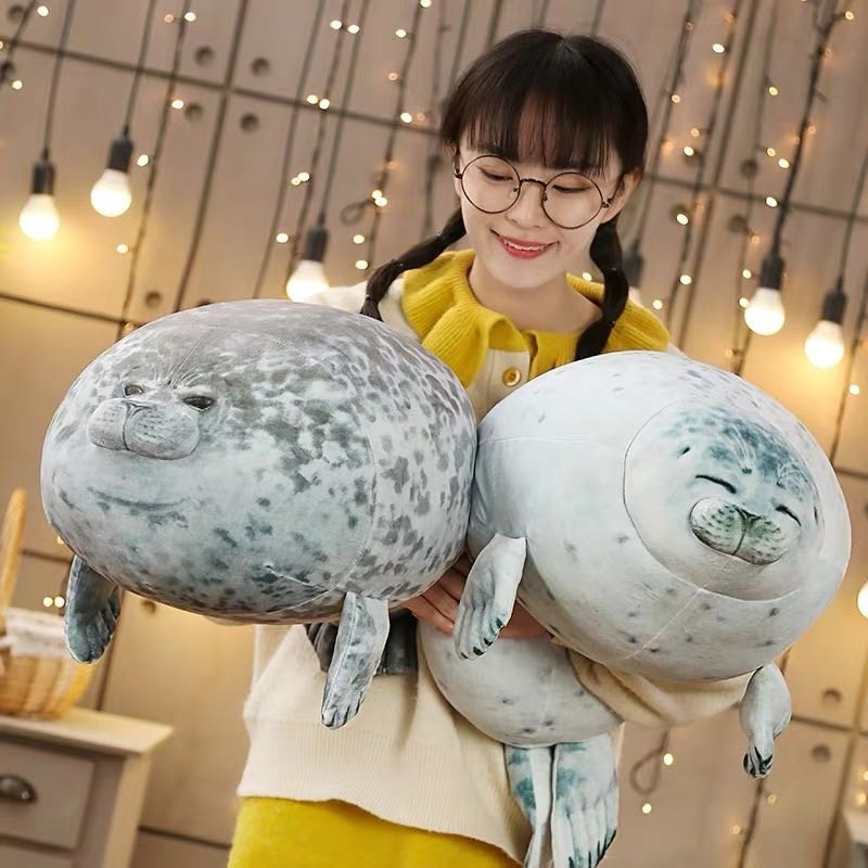 Cuddly Seal Pillow