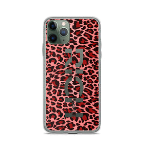 RichLife | Pink Cheetah Liquid Glitter Case
