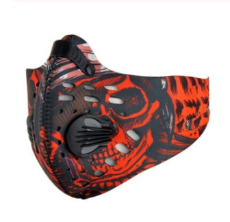 Cycling Face Mask | Activated Carbon | Dustproof Anti Pollution