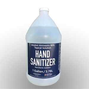 Liquid Hand Sanitizer: 4pk Case of 1 Gallon Jugs