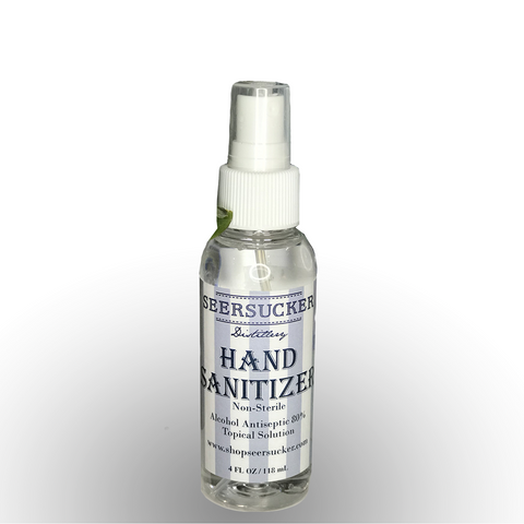 Liquid Hand Sanitizer: 4oz Plastic Spray Bottles 12pk Case