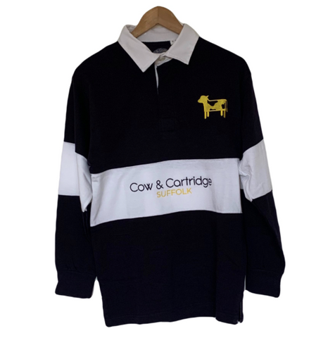 The Rendlesham Rugby Shirt (Navy/White)