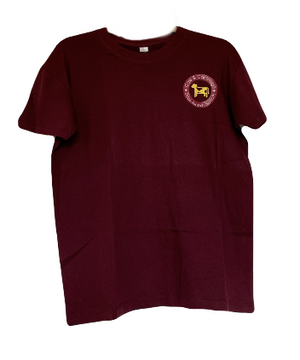 The Tattingstone T-Shirt (Burgundy)