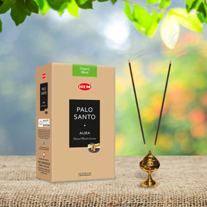 Palo Santo Aura Natural Masala Incense Sticks