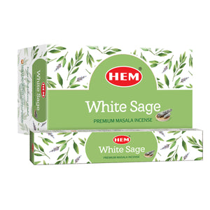 White Sage Premium Masala Incense Sticks