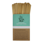 250 count box of Holy City Straw Company Reed Straws with Straws coming out of the box