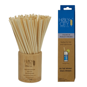 Tall Wheat Straws - Retail 50 Pack