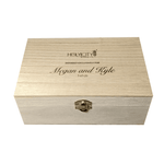 Megan  and Kyle Wedding Custom Branded Straw Holder Box Top.png