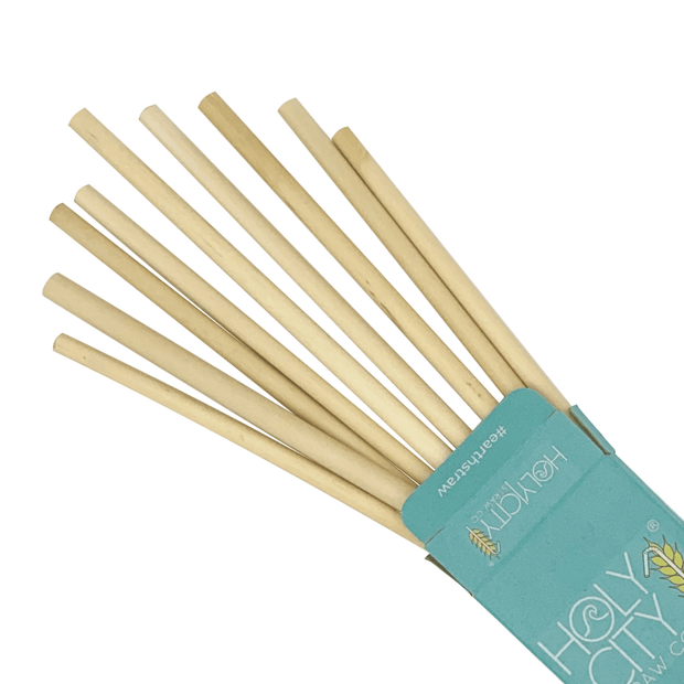Reusable Reed Straws - 10 Pack 1