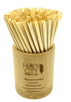 Bamboo Straw Holder