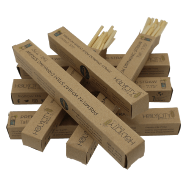 Bundle of Holy City Straw Company Straw Packages